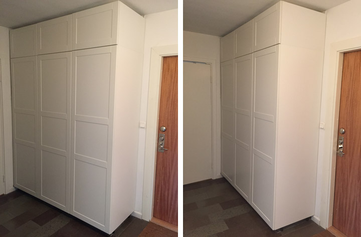 Snygga garderober